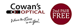 Cowan's Optical Logo